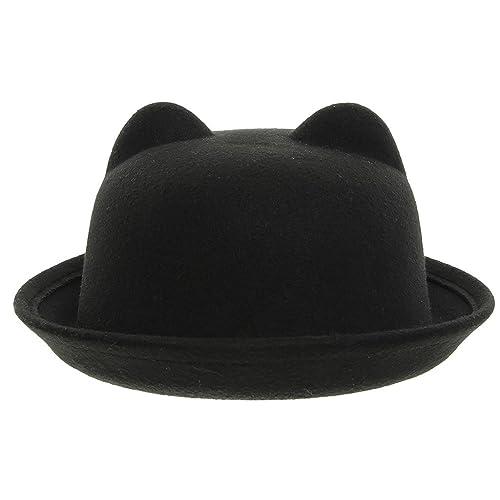 9deec6d3e7b La Vogue Women Cloche Hat Roll Up Brim Bowler Derby Hat