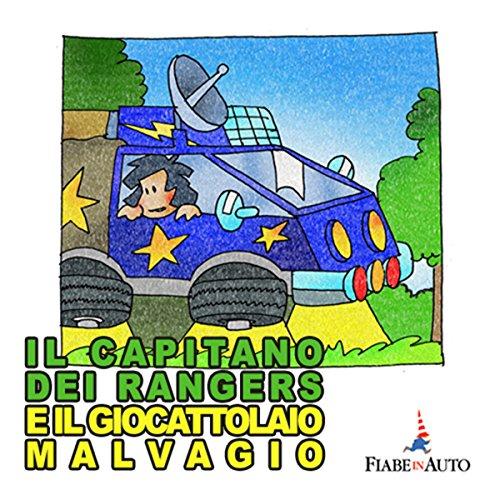 Il Capitano dei Rangers e il giocattolaio malvagio copertina