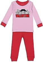 Tcombo I Mustache You to Be My Valentine - Kids Pajama Set