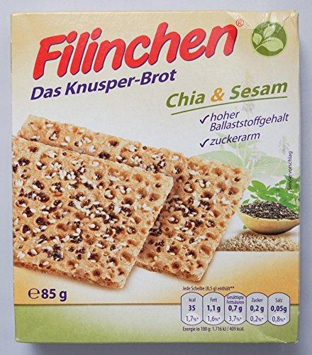Filinchen Knusper-Brot Chia & Seasm