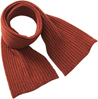 GUAHUAXIANG Winter Warm Baby Long Cotton Scarf Boys Girls Neck Collar Kids Knitted Scarves