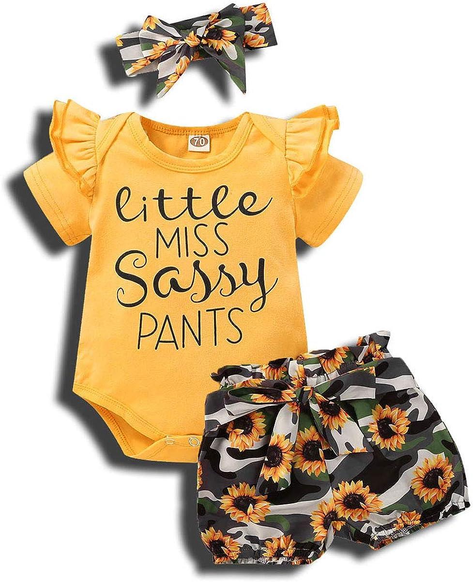 Newborn Baby Girls [Alternative dealer] Mamas Bestie Short Outfits Choice Black Rompe Sleeve