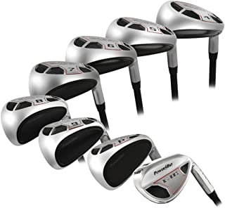 PowerBilt Golf EX-550 Hybrid Iron Set (4-PW, SW)
