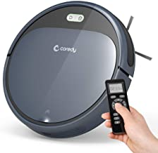 Coredy Robot Vacuum Cleaner, 1400Pa Super-Strong Suction, Ultra Slim, Automatic..