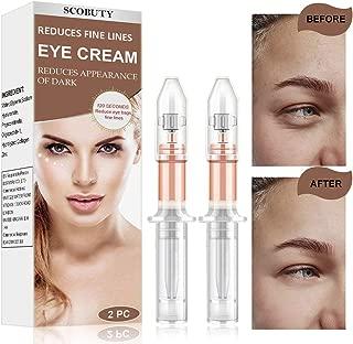 Under Eye Cream,Rapid Eye Cream,Rapid Reduction Eye Cream,Eye Cream,Instant Eye Wrinkle Cream Anti Aging Eye Cream for Firming Eye Puffiness Finelines Under Eye Bags