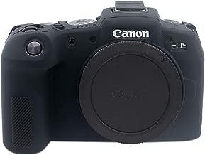 TUYUNG Silicone Case Rubber Camera Case Protective Cover Skin for Canon EOS RP Digital SLR Camera - Black