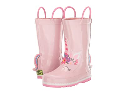 Western Chief Kids Unity Unicorn Rain Boot (Toddler/Little Kid/Big Kid) (Soft Rose) Girls Shoes