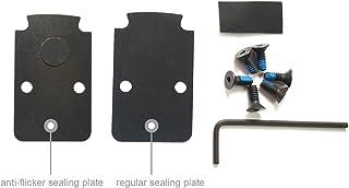 DPP Titanium Mounting Kit/Anti Flicker Sealing Plate Kit Compatible with Trijicon RMR/SRO Glock MOS and Springfield OSP Models