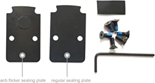 DPP Titanium Mounting Kit/Anti Flicker Sealing Plate Kit for Trijicon RMR Fit Glock MOS and Springfield OSP Models