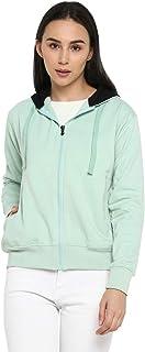 Alan Jones Clothing Women's Cotton Hooded Sweatshirt
