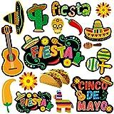 Let's Fiesta Cutouts Cinco De Mayo Festival Cut-Outs Mexican Party 30 Count