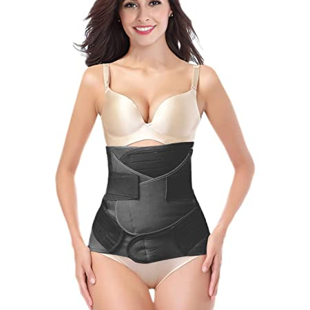 Postpartum Belly Wrap Support Recovery Belt Body Shaper C Section Girdle Corsets