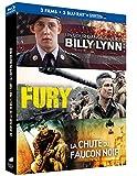 Coffret : Un jour dans la vie de Billy Lynn + Fury + La Chute du Faucon Noir [Blu-ray...