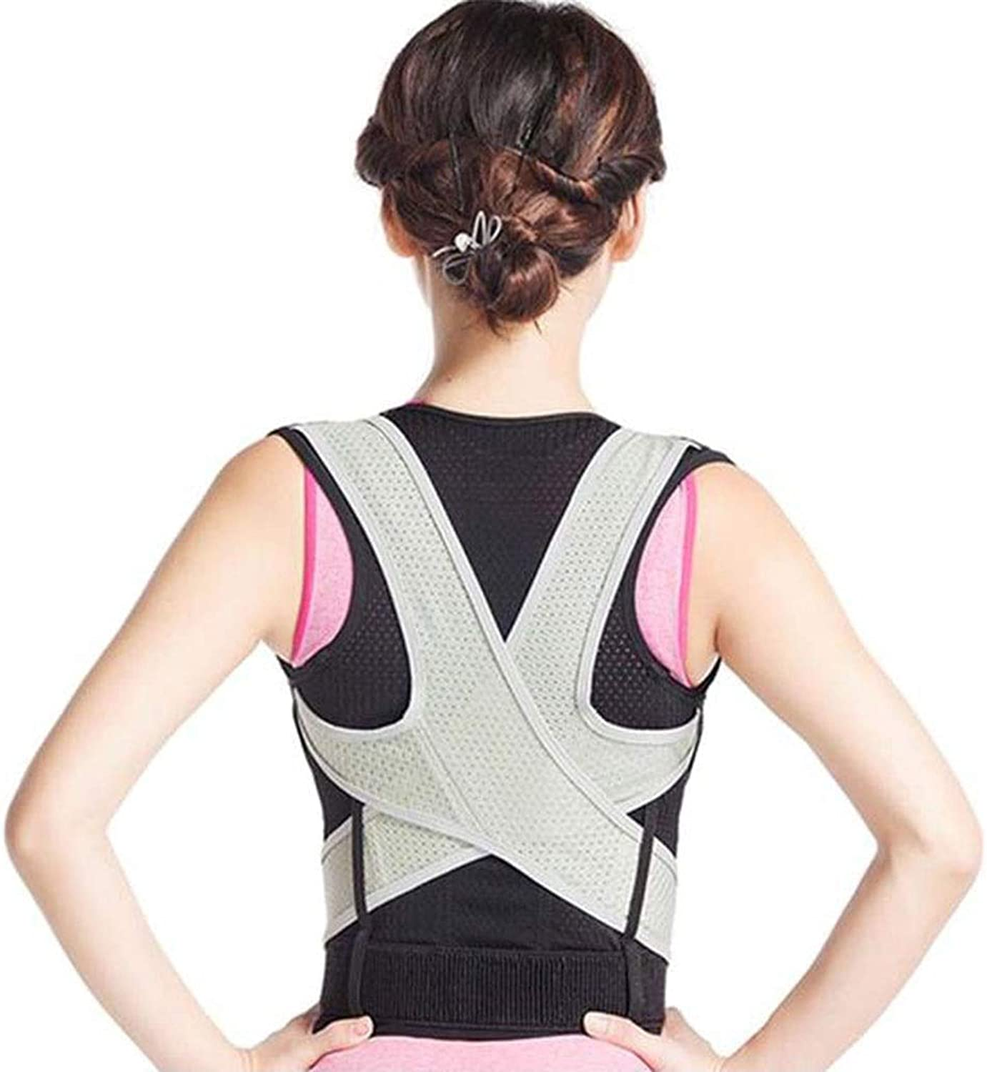 Men and Women with Back Orthotics to Reduce Lower Back Pain and Upper Back Pain, Comfort and Caution