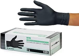 "schwarz /""Chemikalienschutzhandschuhe Gr neuw L Gummihandschuhe"