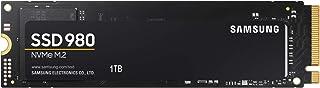日本サムスン 980 1TB PCIe Gen 3.0 ×4 NVMe M.2 (2280) 最大 3,500MB/秒 内蔵 SSD MZ-V8V1T0B/EC 国内正規保証品
