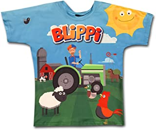 BLIPPI LLC Child Tractor Shirt for Kids by Blippi