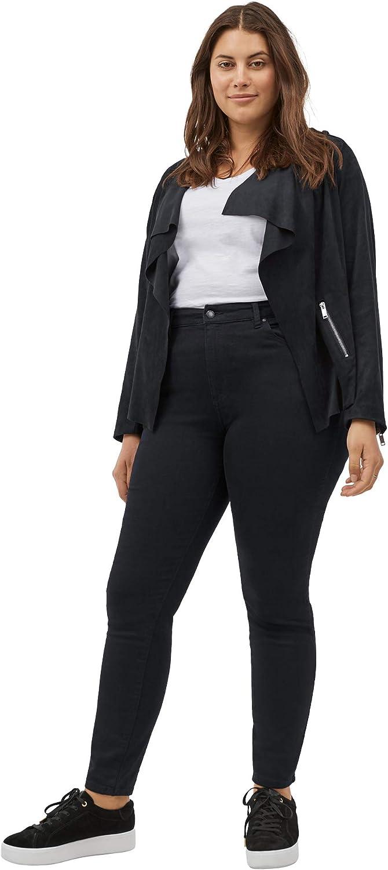 ellos Women's Plus Size High-Waist Skinny Jeans