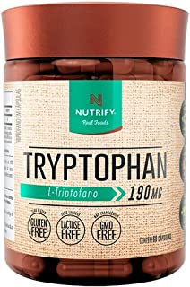 Triptofano 5htp Serotonina 60 Cáps Tryptophan Nutrify 500mg