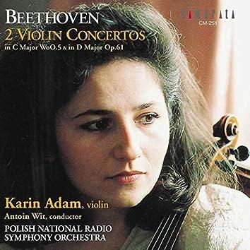Beethoven: 2 Violin Concertos