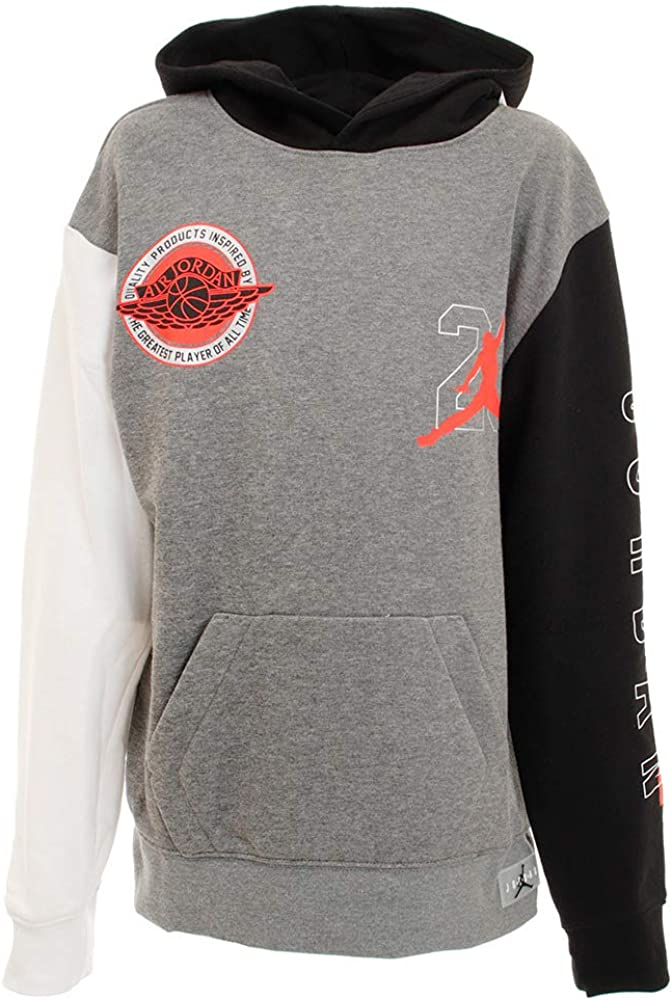 Nike Jordan Sweatshirt Cap Gray Sweatshirt for Boy 957302-GEH <br />