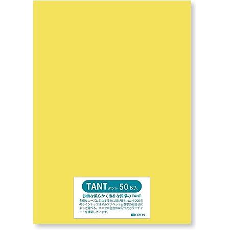色画用紙 タント <100> B5 (257㎜×182㎜) 50枚入り 選べる50色 厚さ0.16㎜ オリオン (N60)