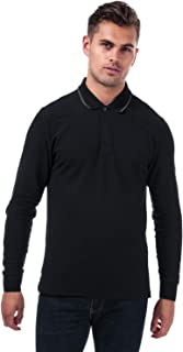 con Botones para Hombre Liso Camisa Formal Manga Corta Ben Sherman