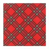 Finemark - Tovaglioli di carta Scotland, 40 x 40 cm, a...