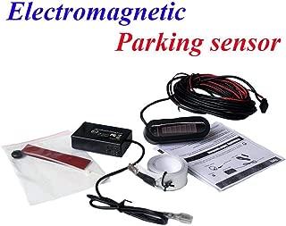 Tihebeyan Auto Electromagnetic Car Radar Sensor System Reverse Parking Parking Reverse Backup Radar Sensor Car Electromagnetic Parking Kit