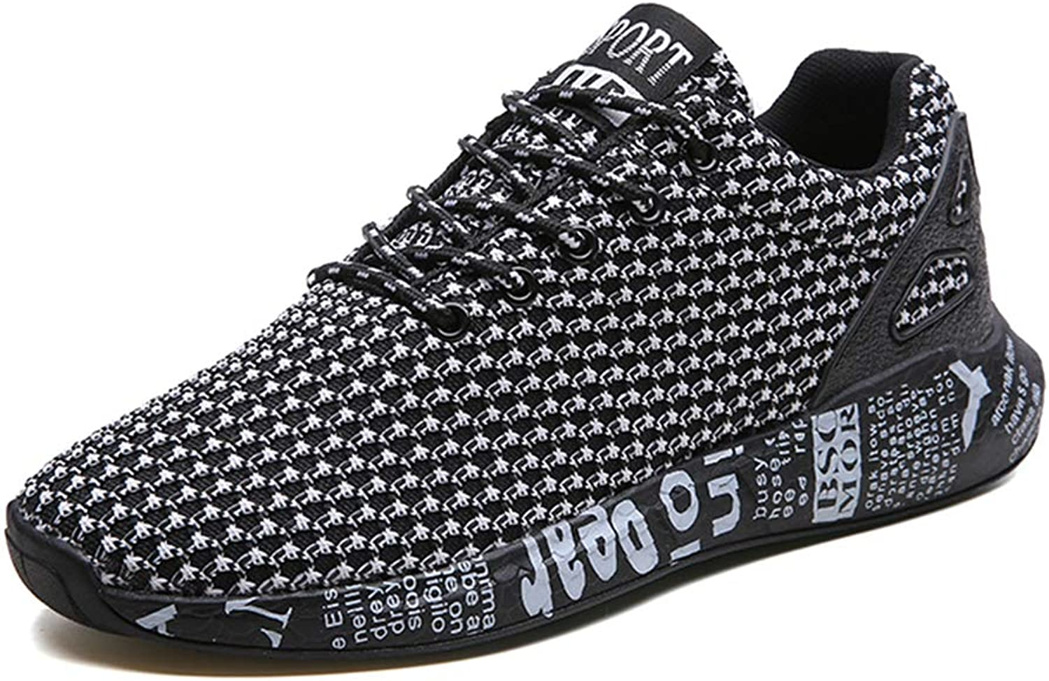Running shoes, Men Sports Sneakers, Fitness Breathable Mesh Running Low Trekking Lightweight Casual Summer Outdoor