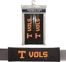 Fremont Die NCAA Tennessee Volunteers Seat Belt PadSeat Belt Pads, Black, One Size