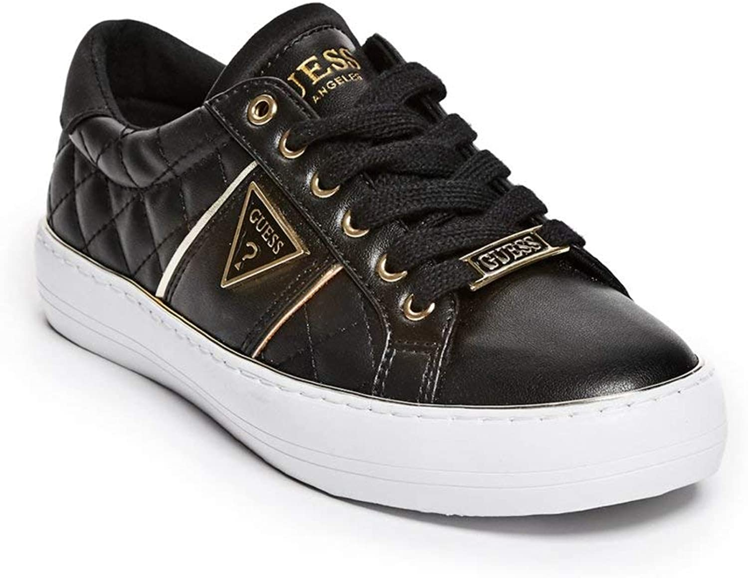 Guess Factory Women's Gilda Quilted Low-Top Sneakers