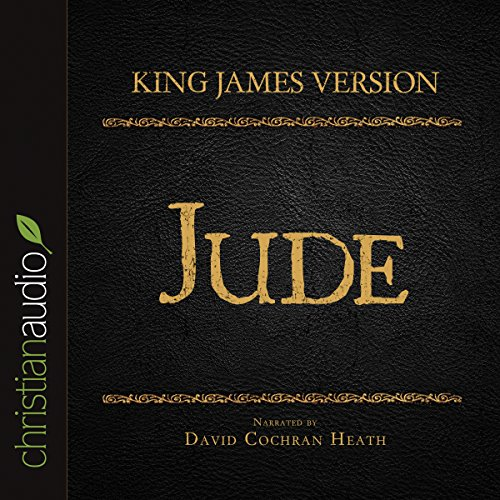 Holy Bible in Audio - King James Version: Jude audiobook cover art