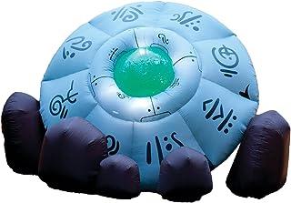 لعبة تصاطم UFO القابلة للنفخ من فورام نوفيليتيز، 3.5 متر، أبيض