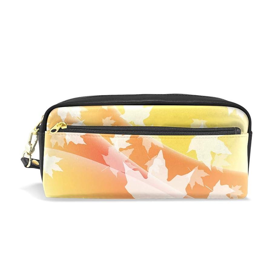 花に水をやる流行一致AOMOKI ペンケース 小物入り 多機能バッグ ペンポーチ 化粧ポーチ 男女兼用 ギフト プレゼント おしゃれ 紅葉 植物