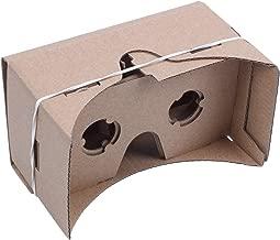 Gaoominy 6 Occhiali da Vista in Pollice DIY 3D VR Realtà Virtuale per Cartone