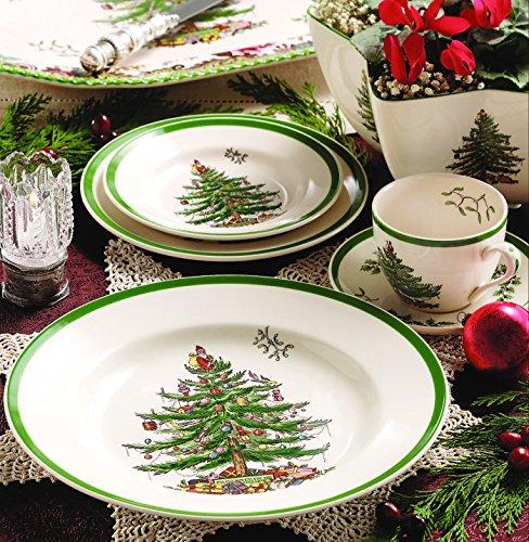 Spode Christmas Tree 5-Piece Dinnerware Set, Service for 1
