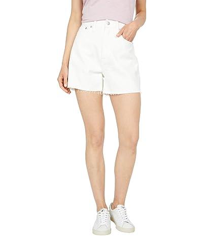 Madewell Mom Shorts in Tile White Women