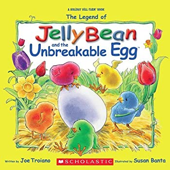 Paperback Jelly Bean and the Unbreakable Egg Book
