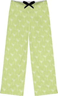 RNK Shops Margarita Lover Womens Pajama Pants - 2XL (Personalized) Green