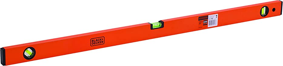 Black + Decker Aluminium Box Beam Level 100cm (Orange)