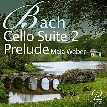 Bach: Cello Suite No. 2 in D minor, BWV 1008: I. Prélude
