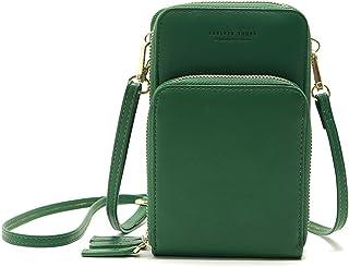 Women Mini body Bag with Adjustable Strap Solid Pattern Zip Handbags Multipurpose Mini Shoulder Bag Waterproof Purse Pouch...