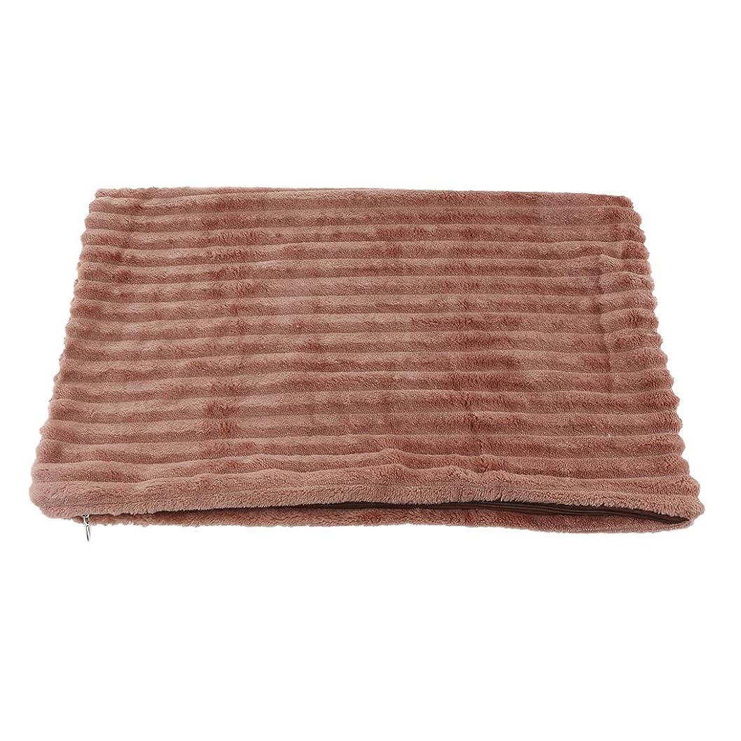 の中でテレックス対処枕カバー 抱き枕カバー ソファ用 クッション 飾り 約50×30cm 全11色 - ブラウン