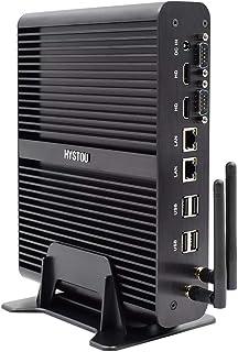Mini PC, sin Ventilador Mini PC de Escritorio de Windows 10 (64-bit) Intel Core I7-5500U (Max3.0 GHz) / Salida de 8 GB / 5...