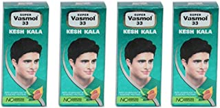 4 x Super Vasmol 33 Kesh Kala - 50ml
