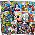 Superhero Ultimate Coloring Book Assortment ~ 15 Books Featuring Avengers, Spiderman, Justice League, Batman and More (Includes Stickers)