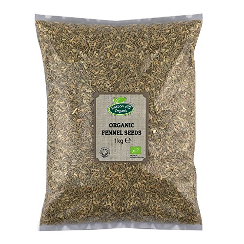 Organic Fennel Seeds 1kg by Hatton Hill Organic - Free UK Delivery