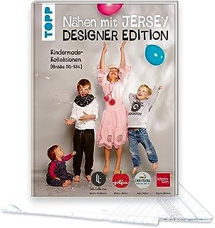 Nähen mit Jersey: Designer Edition.: Kindermode-Kollektionen Größe 50-134 von Klimperklein, Cherry Picking, Jolijou und Lila-Lotta