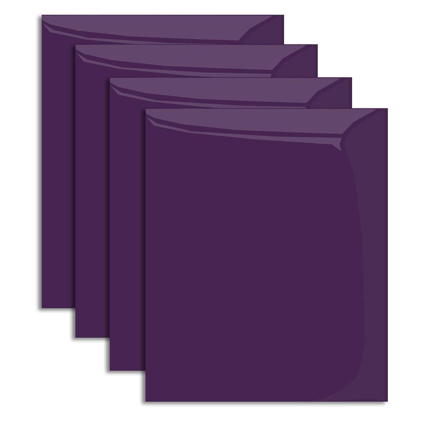MiPremium PU Heat Transfer Vinyl, Purple Iron On Vinyl 12